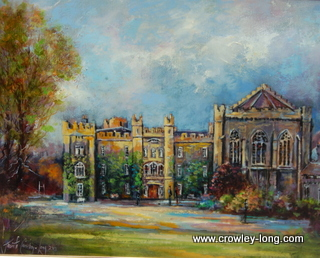 Evening Light, Clongowes  <p style=&quot;font-size:12pt;&quot;>(SOLD)</p>