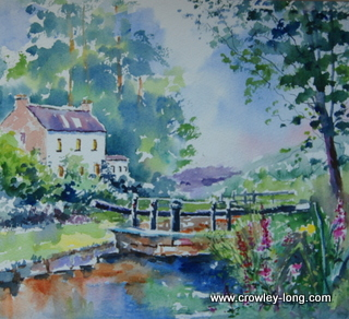 "Ballykeenan Lock on the Barrow <p style=""font-size:12pt;"">(SOLD)</p>"