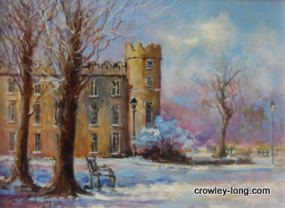 Snow on Snow, Clongowes Wood College <p style=
