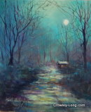 Home by Moonlight (SOLD)