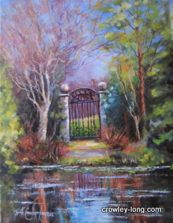 "The Myshall Gate, Altamont Gardens, Co Carlow, <p style=""font-size:12pt;"">(SOLD)</p>"