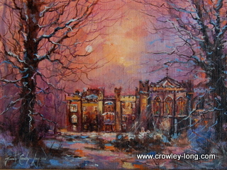 Evensong, Clongowes ( 12 x 16 inches )