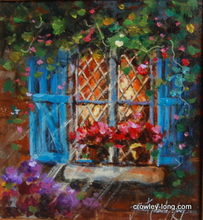 "Through the Lattice <p style=""font-size:12pt;"">(SOLD)</p>"