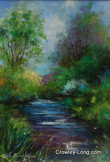 "Blackstairs Stream <p style=""font-size:12pt;"">(SOLD)</p>"