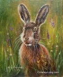 "Hare Belle ( 12 x 10 "")"