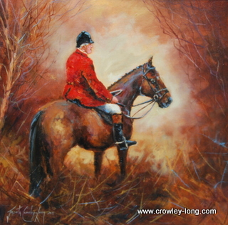 All Quiet on the Equestrian Front <p style=&quot;font-size:12pt;&quot;>(SOLD)</p>