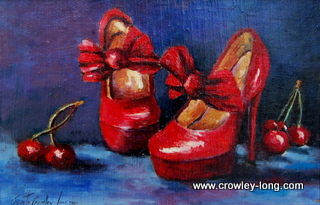"""Cherry Reds  <p style=""""font-size:12pt;"""">(SOLD)</p>"""
