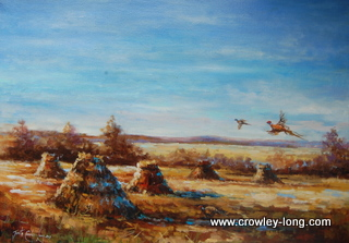 Pheasant Fall ( 27x20ins)
