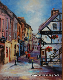 "A Glimpse of Old Enniscorthy  <p style=""font-size:12pt;"">(SOLD)</p>"