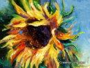 Sunflower Burst (12 x 16 inches)