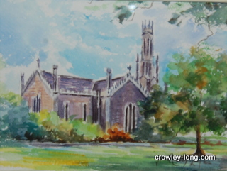 Carlow Cathedral <p style=&quot;font-size:12pt;&quot;>(SOLD)</p>