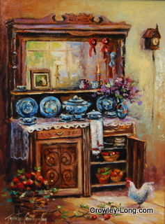 Country Dresser (16x14ins)