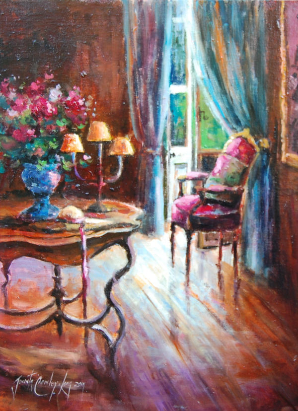 The garden Room (16 x 12 inches)