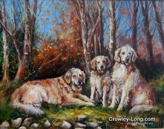 Golden Retrievers (SOLD)