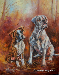 Darcy and Murphy (SOLD)