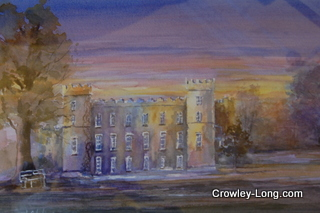Evensong , Clongowes (SOLD)