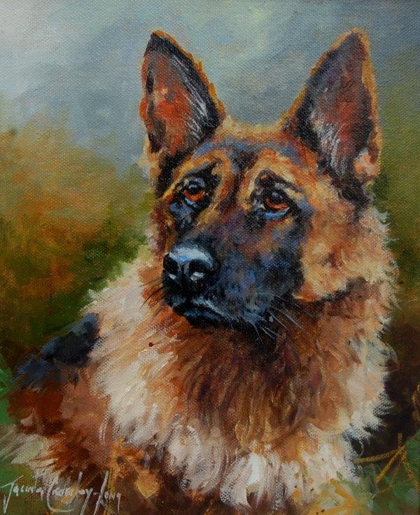The Good Shepherd (10x12ins) €450