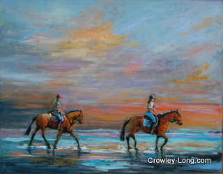 Riders to the Sea (16 x 20 inches)