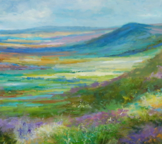 A Scent of Heather  (16 x 20 inches)