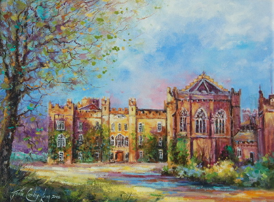 Clongowes, Evening Glow (18 x 14