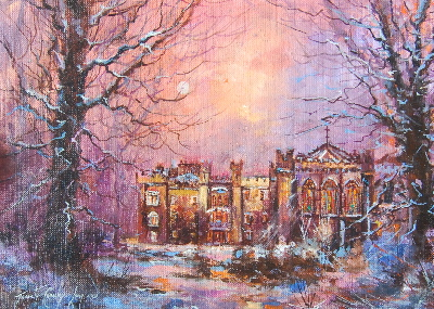 "Clongowes, Winter Prayer ( 16 x 12"")"