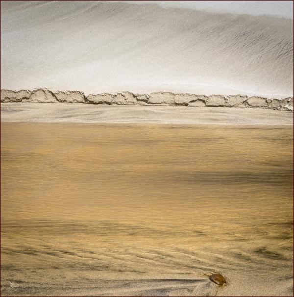 Stream detail, Dalbeg Beach.