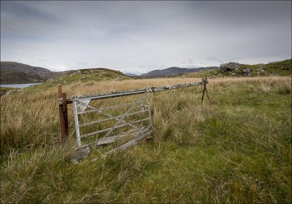Gate to Nowhere, Aird Mhiabhaig, Harris.
