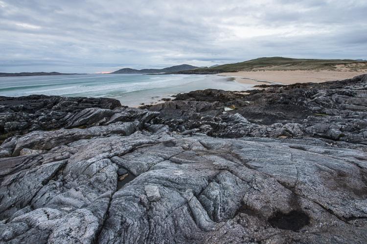 Rocks and Beach, Harris.