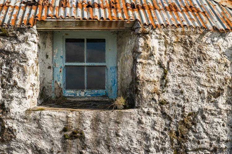 Abandoned Farmhouse detail, Harris