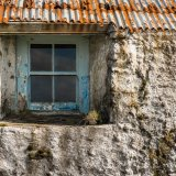 Abandoned Farmhouse detail, Harris