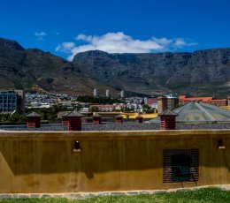 15. Table Mountain from The Castle, Cape Town