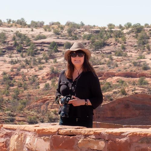 Jayne at Canyon de Chelly Arizona