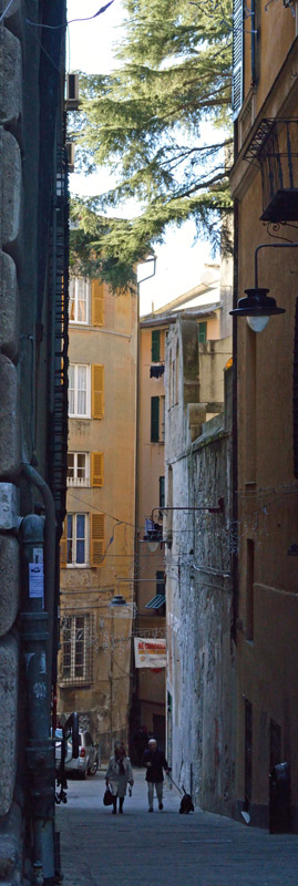 Genoa - Alleyway