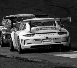 Porsches Knockhill 2017