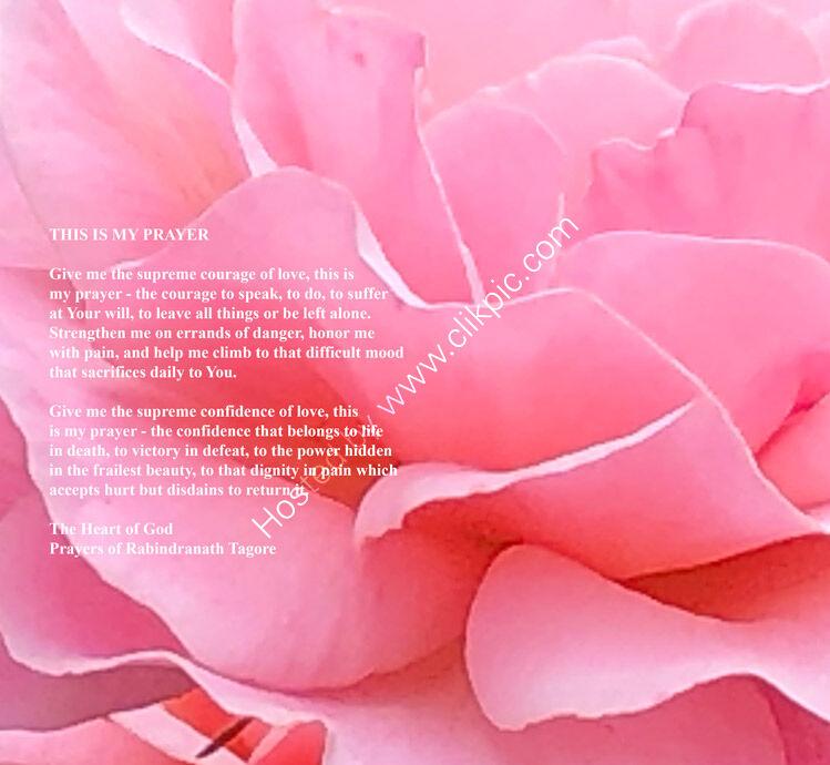 This Is My Prayer - Rabindranath Tagore