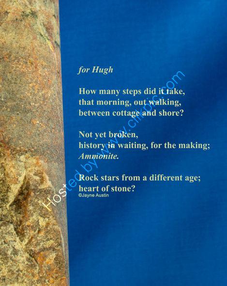 for Hugh - Poem