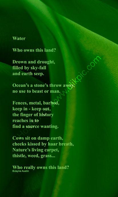Water - Correct Poem