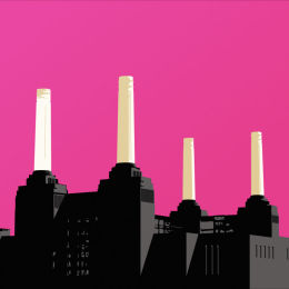 SOLD Battersea Power Station Pink