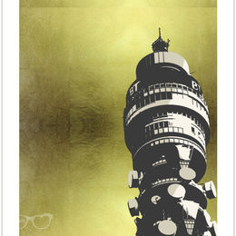 BT Tower (Iconic gold series)