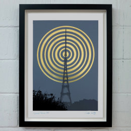 CRYSTAL PALACE  GREY/GOLD (Unframed)