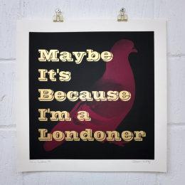 I'm a Londoner (Unframed)