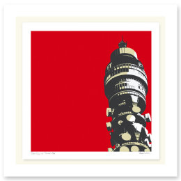 POST OFFICE TOWER RED