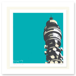 POST OFFICE TOWER TURQUISE