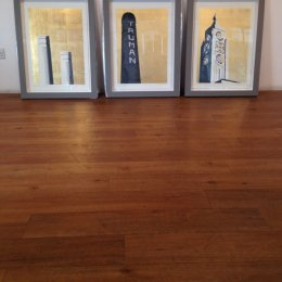 Jayson Lilley, Framed set of gold leaf London screenprints