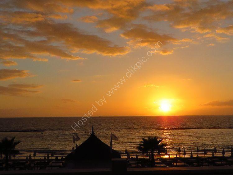 7pm February in Tenerife
