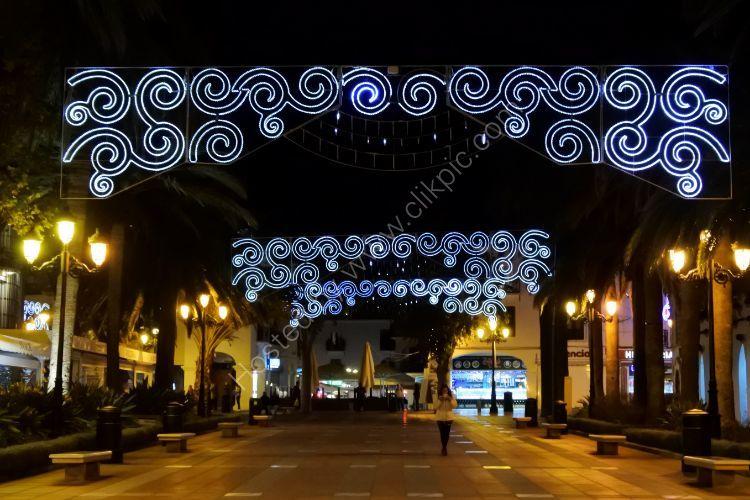 Christmas in Nerja Spain