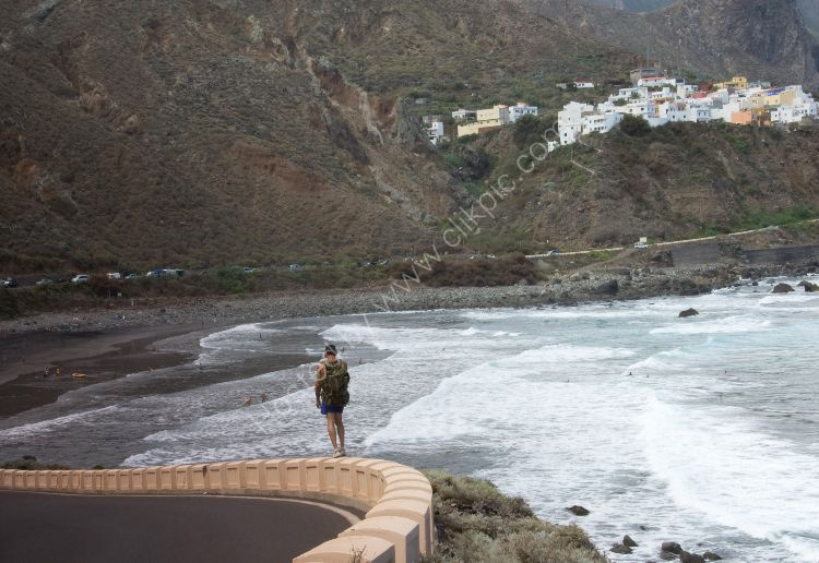 Going home in northern Tenerife
