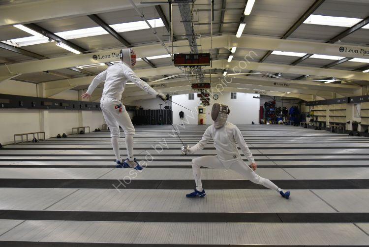 High flying Fencers