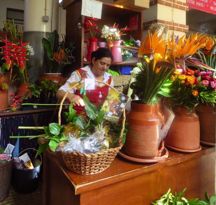 Madeiran Flower Seller