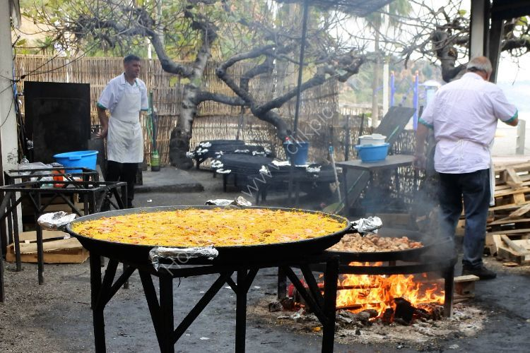 Paella in Nerja Spain